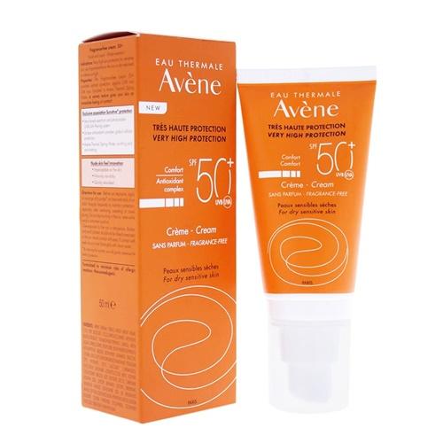 Avene Protector Solar crema con color 50 ml