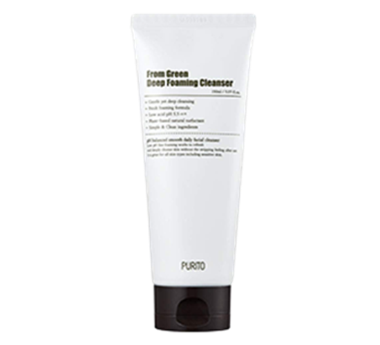 Purito From Green Deep Foaming Cleanser 150 ml guapa skincare