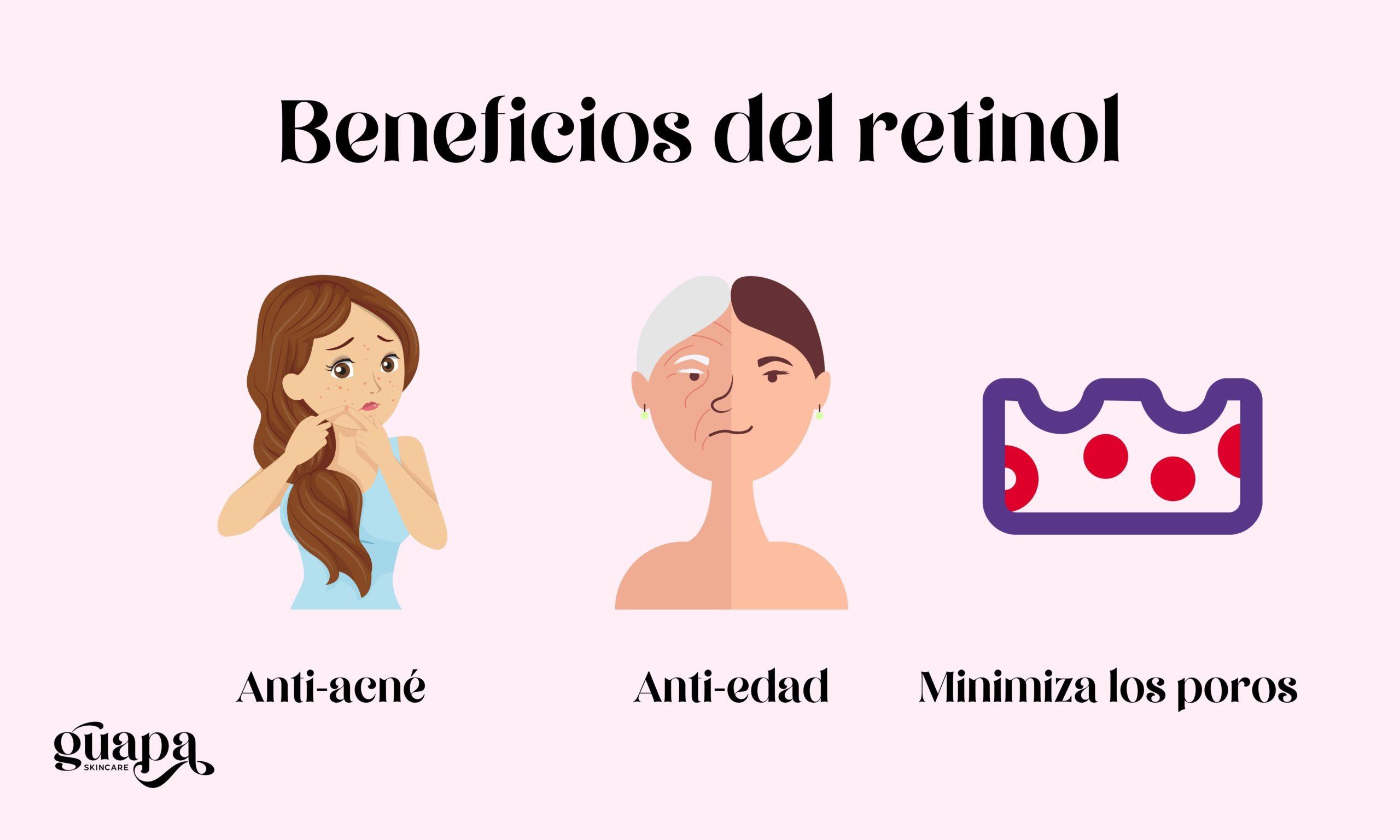 Beneficios del retinol
