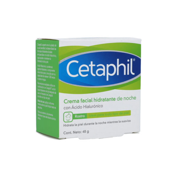 Cetaphil Crema Hidratante con Ácido Hialurónico X 48Gr (Día)