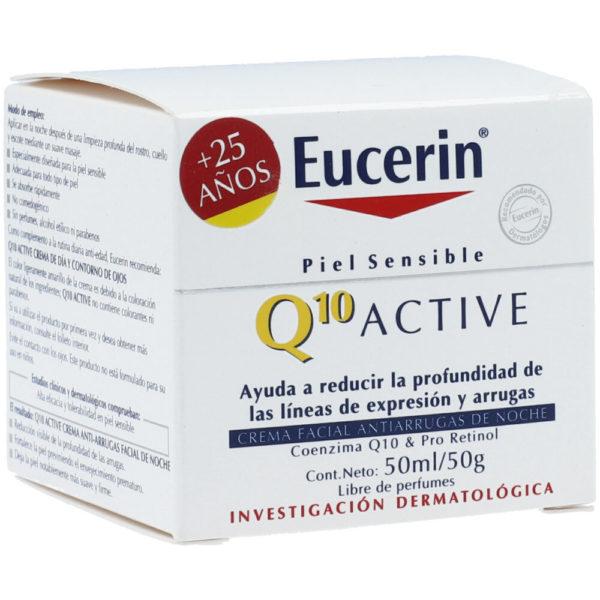 Eucerin Crema Q10 Noche X 50mL