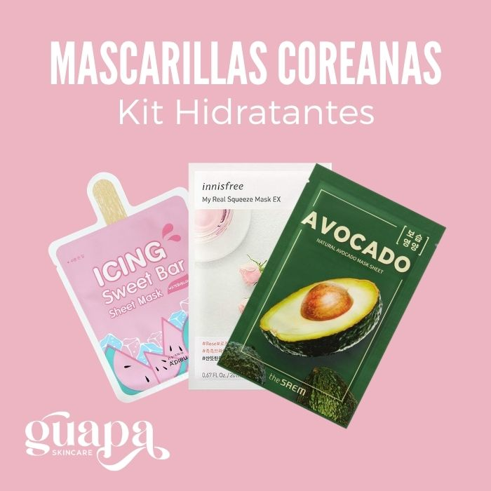 Mascarillas Coreanas Kit Hidratantes