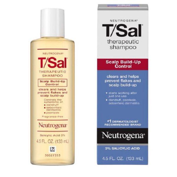 Neutrogena TSal Shampoo Control de la Caspa, 4.5 Fl Oz